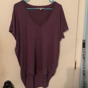 Express One Eleven Tunic Shirt
